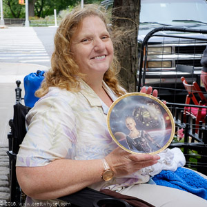 Jeri and the Borg Plate: Is there anything you're selling that you're hoping maybe will not sell?